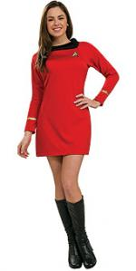 Kostým - Red dress - classic deluxe - Star Trek™