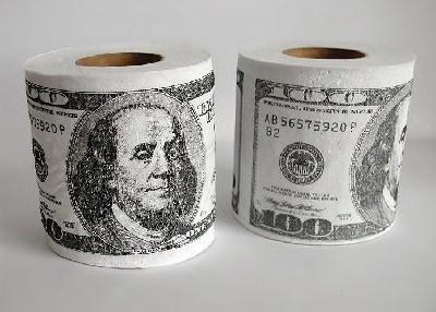 Toaletný papier Dolary