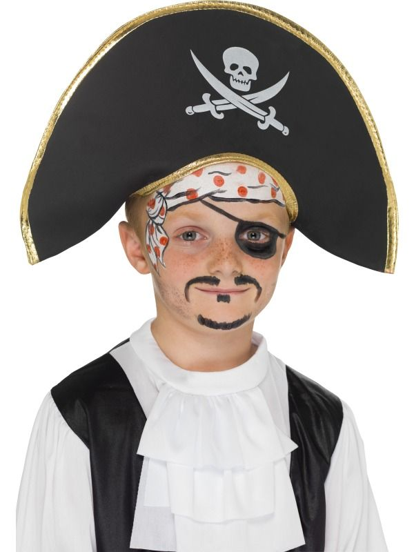 Detský klobúk Pirátsky kapitán