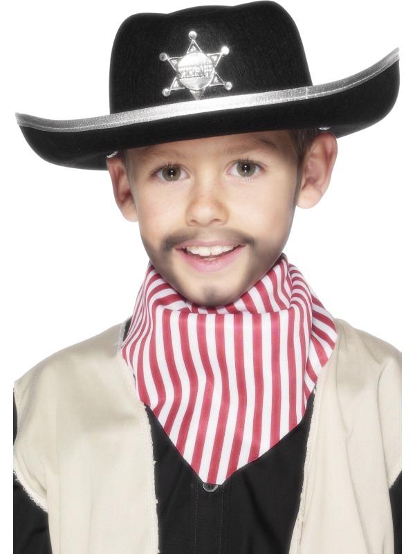 de5765d4a Detský plstený šerifský klobúk